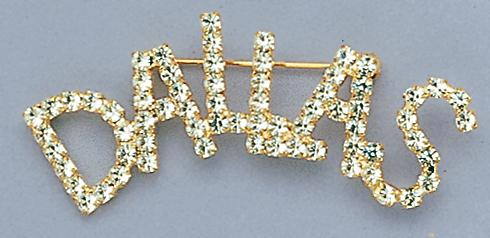 PA340: Austrian Crystal Dallas Pin