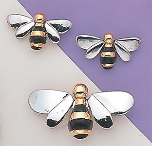 SN53: 3-Tone Bee Pin or Set
