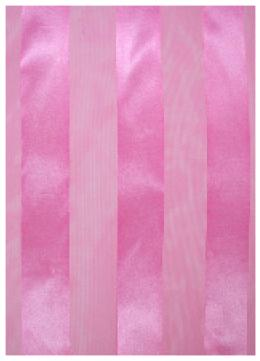 SS35P: Solid Pattern Pink Silky Scarf