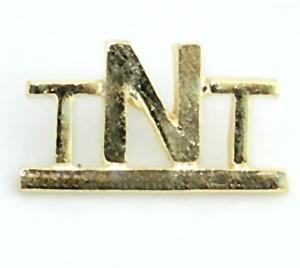TA414: Gold TNT Pin