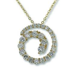 NC112: Journey CZ Necklace