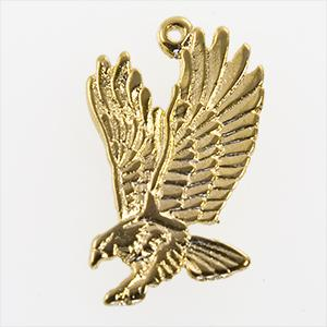 CH260: Eagle Charm in Gold or Silver