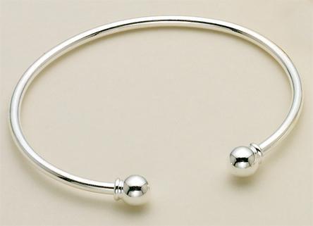 Silver Or Gold Bracelet Charm Holder