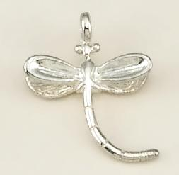 CH185: Dragonfly Charm in Gold or Silver