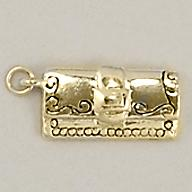 CH213: Purse Charm in Gold or Silver