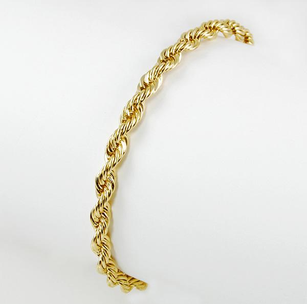 CL67: Gold Rope Bracelet