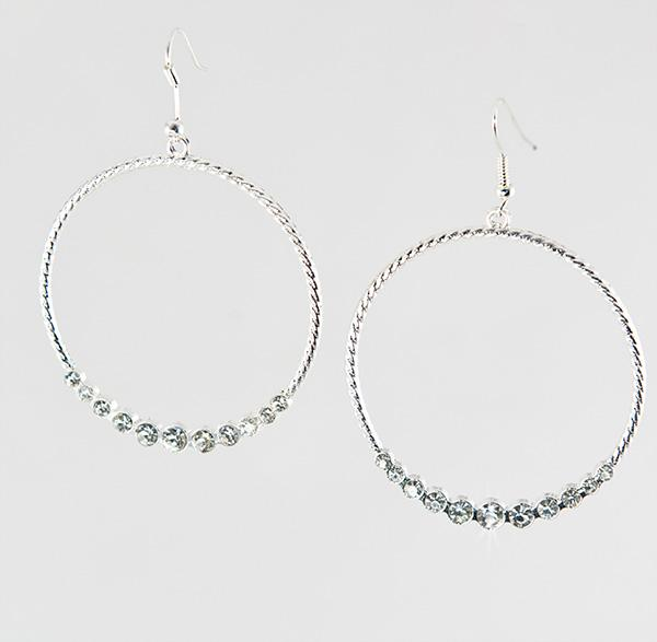 EA 534: Crystal Circle of Excellence Earrings