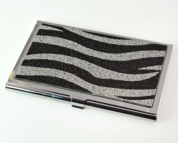 AB118: Zebra Business Card Holder