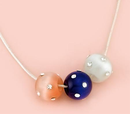 NA136: Moonstone Fireball with Crystals (Various Colors Available)