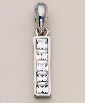NA145: Cartier Style Pendant Gold or Silver
