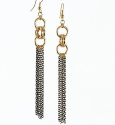 NC158: Tiffany Style Earrings and Necklace