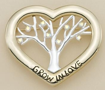 PA03: Crystal Heart Tree Pin